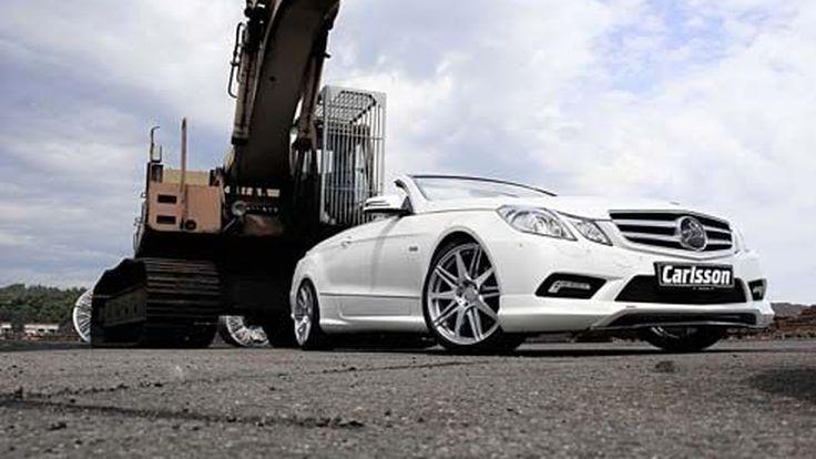 Mercedes-Benz E350 CDI ในชุดแต่ง C-Tronic Diesel Power CD28-35 REVO