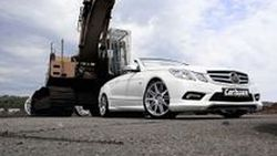 Mercedes-Benz E350 CDI ในชุดแต่ง C-Tronic Diesel Power CD28-35 REVO