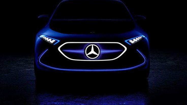 Mercedes-Benz เปิดทีเซอร์ EQ A รถเอสยูวีพลังงานไฟฟ้า