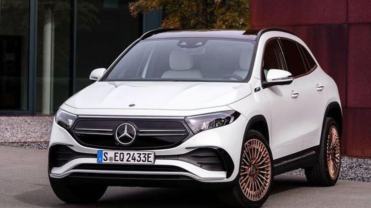 Mercedes Benz EQA พลังงานไฟฟ้า วิ่งไกลถึง 486 km.