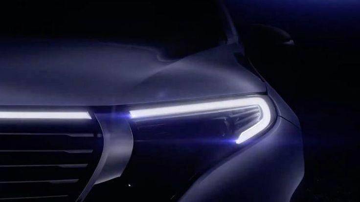Mercedes-Benz EQC เตรียมเปิดตัว 4 กันยายนนี้