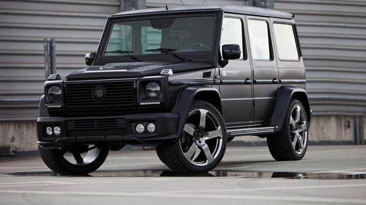 Mercedes-Benz G-Class เสริมแอโรคิทโดย Prior Design