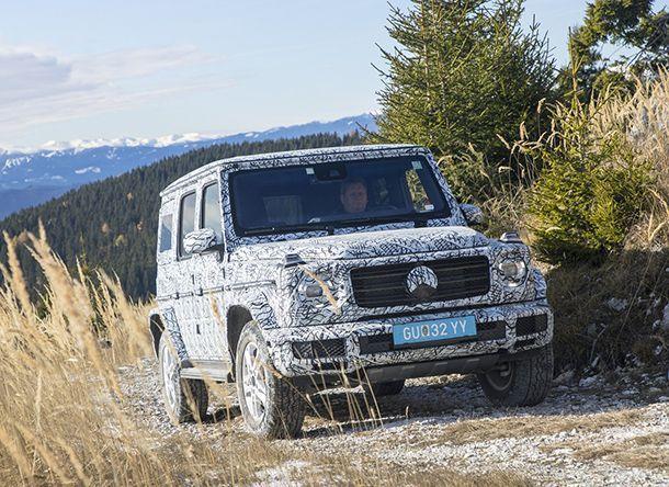 Mercedes-Benz แย้มภาพและข้อมูล G-Class รุ่นใหม่