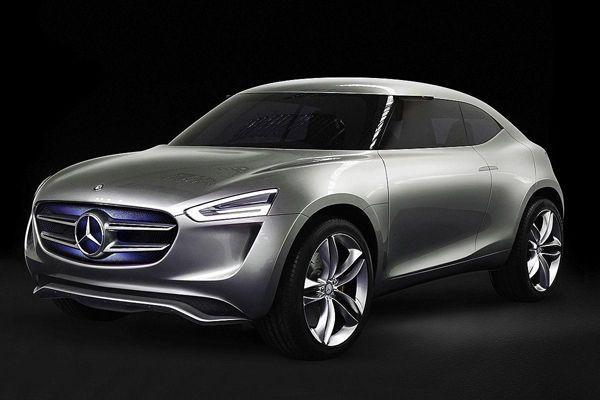 Mercedes-Benz G-Code รถครอสโอเวอร์ต้นแบบพลังไฟฟ้าเชื้อเพลิงไฮโดรเจน
