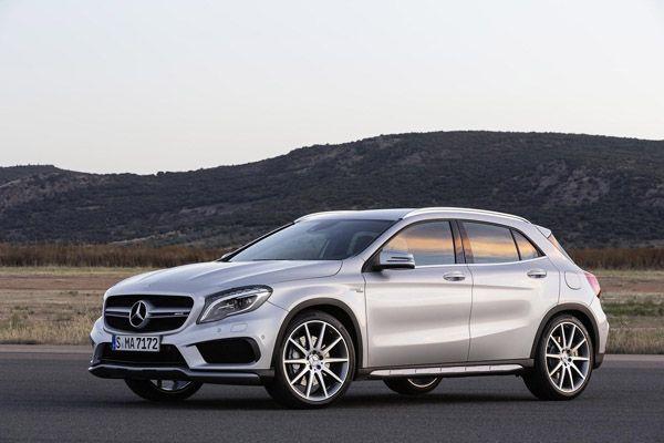 Mercedes-Benz GLA 45 AMG เผยโฉมความดุดันสไตล์ครอสโอเวอร์