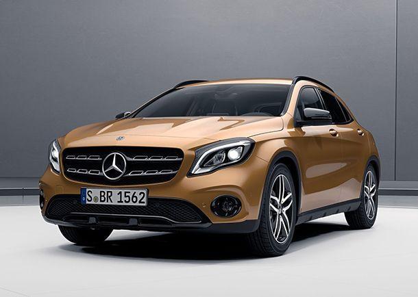 Mercedes-Benz GLA โฉมใหม่มาพร้อม Night Package