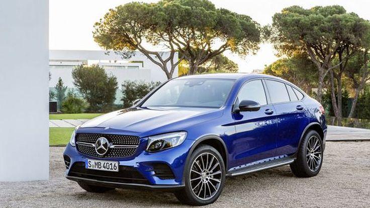 เผยโฉม Mercedes-Benz GLC Coupe โดดเด่นที่สไตล์ปราดเปรียวยิ่งขึ้น