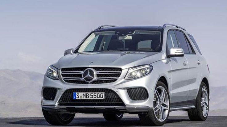 เปิดตัว Mercedes-Benz GLE เอสยูวีที่มาแทนที่ M-Class