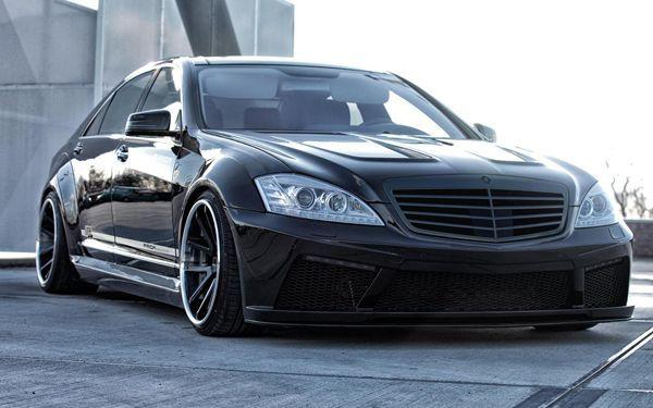 ไม่ยอมตกรุ่น Mercedes-Benz S-Class สวมบอดี้คิทแบบดิบเท่โดย Prior Design