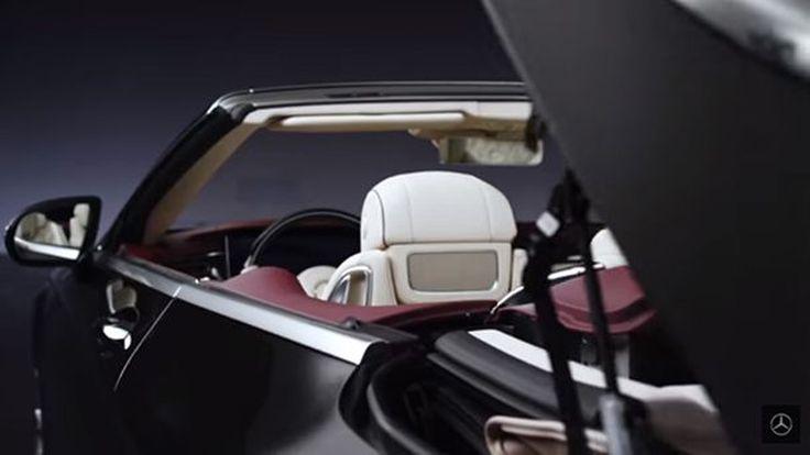 ชมวีดีโอทีเซอร์ Mercedes-Benz S-Class Cabriolet จ่อเปิดตัวที่แฟรงค์เฟิร์ต