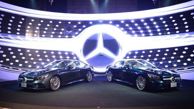 Mercedes-Benz S-Class Coupé และ Mercedes-Benz S-Class Cabriolet สุดยอดยนตรกรรมสปอร์ตหรูเหนือระดับรุ่นใหม่ล่าสุด