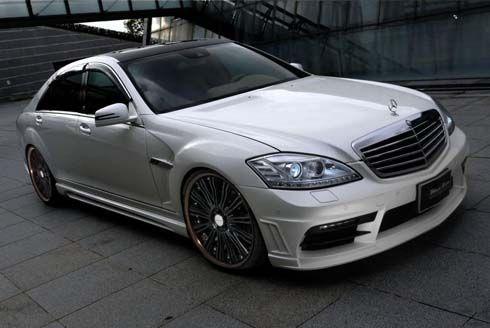 Mercedes-Benz S-Class และ CLS-Class ติดล้อใหม่ใช้สีดำด้าน โดย Wald