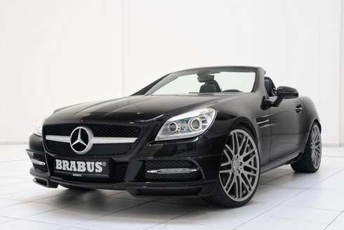 Mercedes-Benz SLK เพิ่มพลังด้วยโมดูล ECO PowerXtra CGI พร้อมแต่งโฉมโดย Brabus