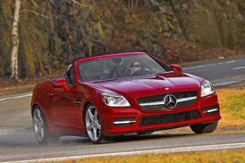 Mercedes-Benz เปิดราคา SLK และ CLS รุ่นปี 2012 เวอร์ชั่นอเมริกา พร้อมภาพชุดใหม่