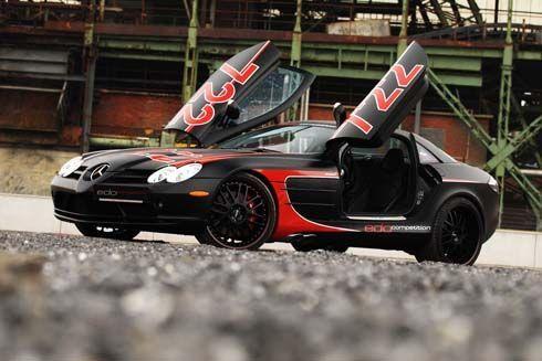 Mercedes-Benz SLR McLaren Black Arrow ซุปเปอร์คาร์แต่งโดย edo Competition