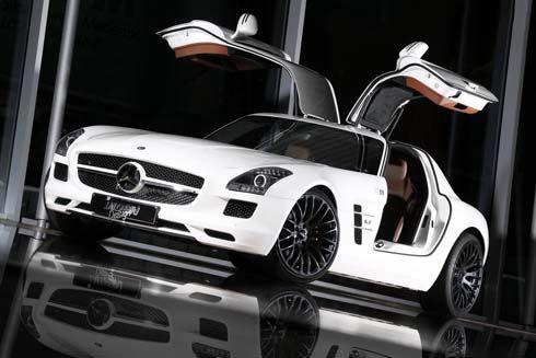 """Mercedes-Benz SLS AMG """"The Flyer"""" เพิ่มความสมบูรณ์แบบให้โดย Inden Design"""
