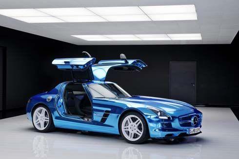 Mercedes-Benz SLS Electric Drive ซูเปอร์คาร์พลังไฟฟ้า แรงที่สุดในโลก