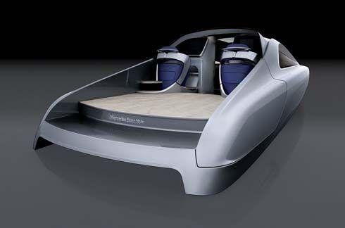Mercedes-Benz แตกไลน์สร้าง Style เรือยอทช์สุดล้ำ ผลิตออกจำหน่ายปีหน้า