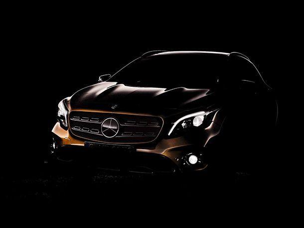 Mercedes-Benz แย้มทีเซอร์ 2018 GLA ก่อนเปิดตัวสัปดาห์หน้า