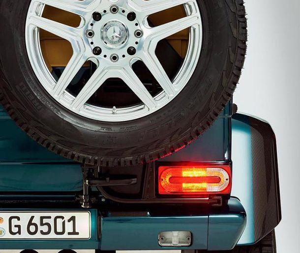Mercedes-Benz ปล่อยทีเซอร์ G65 AMG 4x4² V12 Convertible