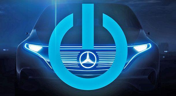 """""""พร้อมจะเปลี่ยนแปลงหรือยัง?"""" Mercedes-Benz ปล่อยทีเซอร์รถพลังไฟฟ้ารุ่นใหม่"""