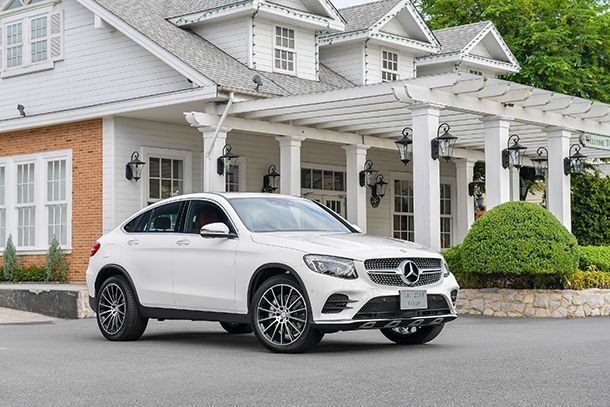 Mercedes-Benz เปิดตัว GLC Coupé พร้อมรหัสแรง GLC 43 4MATIC Coupé