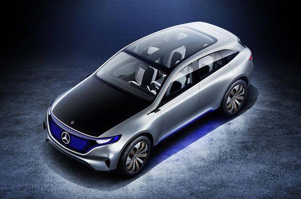 "Mercedes-Benz เตรียมเผยโฉมรถพลังไฟฟ้าต้นแบบ ""EQ"" ปลายปีนี้"