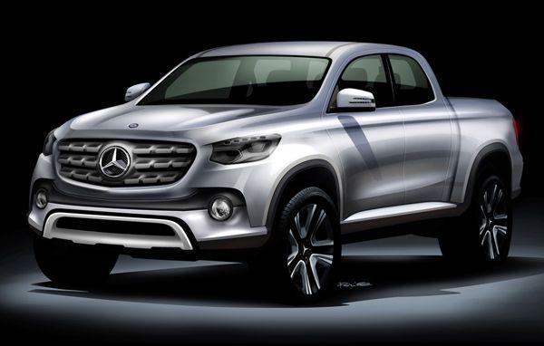 เผยรถกระบะ Mercedes-Benz จะพัฒนาบนพื้นฐาน Nissan Navara