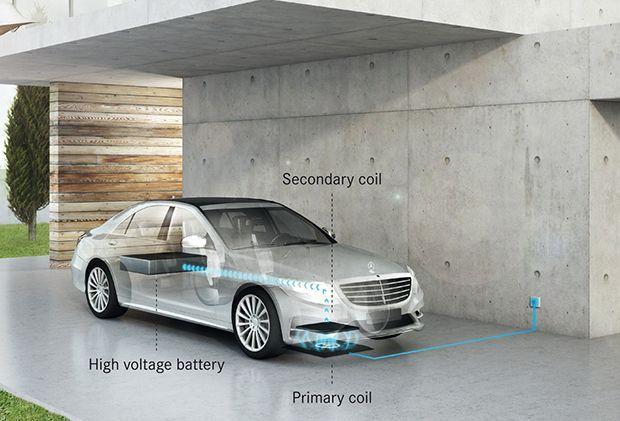 ลูกค้า Mercedes-Benz ได้ใช้ระบบชาร์จไฟไร้สายแน่นอนปีหน้า