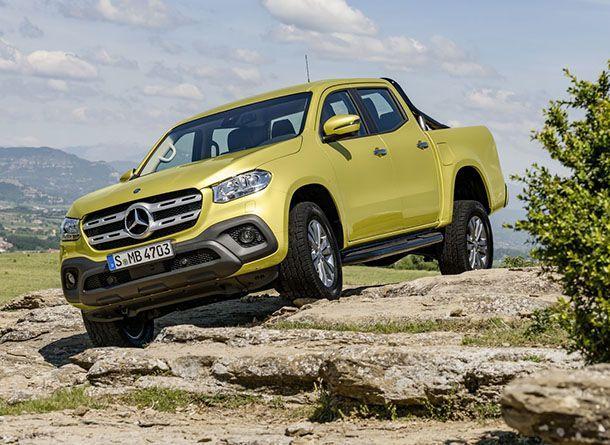 เผยโฉมแล้ว Mercedes-Benz X-Class ยกระดับมาตรฐานรถกระบะพันธุ์หรู