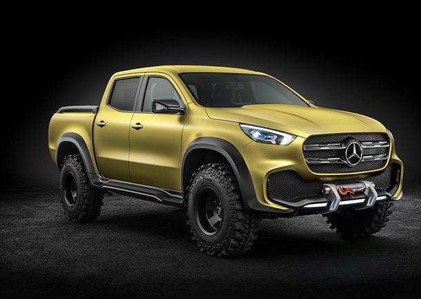 """Mercedes-Benz เปิดรับจองรถกระบะ """"X-Class"""" ในประเทศอังกฤษ"""