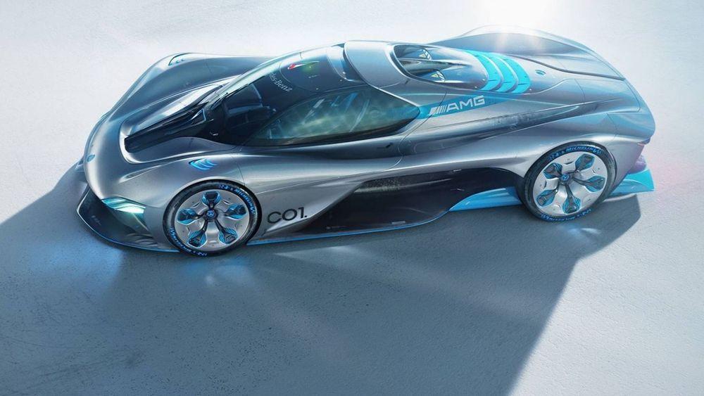 Mercedes C01 Concept ไฮเปอร์คาร์ไฟฟ้ารุ่นใหม่ของค่าย ที่จะมาพร้อมดีไซน์สุดโฉบเฉี่ยว
