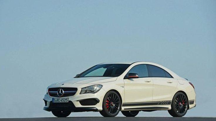 สวยสปอร์ต Mercedes-Benz CLA 45 AMG Edition 1 อัพเกรดซีดานขนาดเล็ก