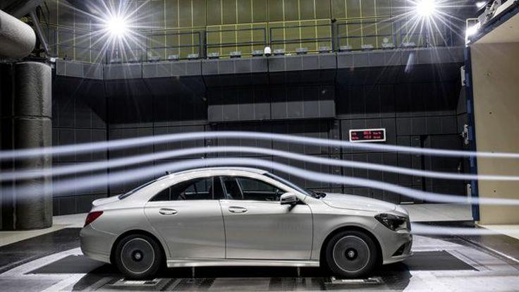 Mercedes-Benz โวลั่น CLA มีความลู่ลมตามหลักแอโรไดนามิกมากที่สุดในโลก