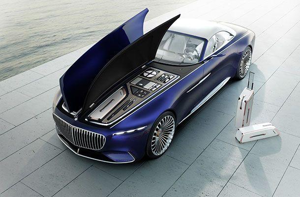 ยลโฉม Mercedes-Maybach 6 Cabriolet Concept ขับเคลื่อนด้วยไฟฟ้า
