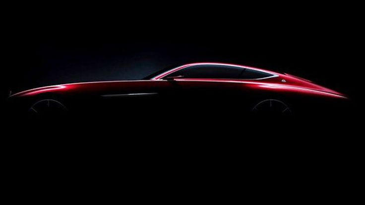 Mercedes-Maybach แย้มทีเซอร์รถคูเป้คอนเซปต์รุ่นใหม่ เปิดตัวปลายเดือนนี้