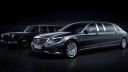 ยาวไปไหน? Mercedes-Maybach Pullman ยนตรกรรมซูเปอร์พรีเมียม