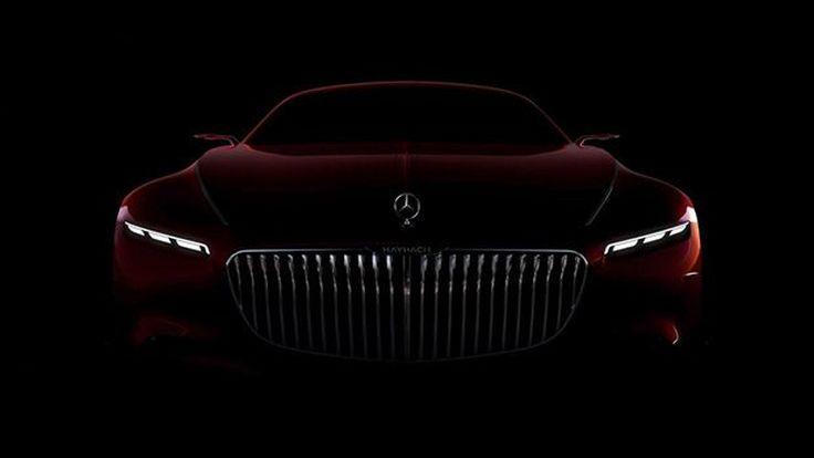 Mercedes-Maybach ปล่อยอีกหนึ่งภาพทีเซอร์ โชว์ด้านหน้าสุดหรู