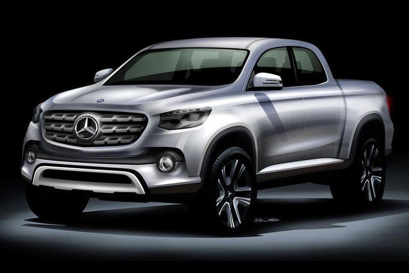 รถกระบะ Mercedes-Benz จ่อเปิดตัวจริงปลายปีนี้