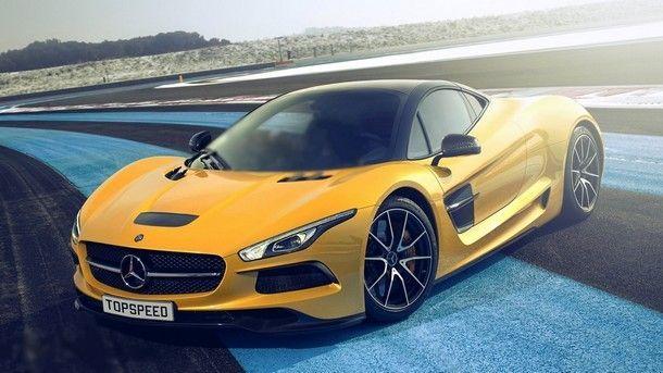 หรือนี่จะเป็นภาพคอนเซปต์ซูเปอร์คาร์ จากค่าย Mercedes-Benz ในอนาคต