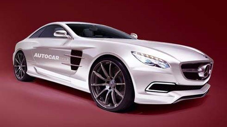 Mercedes เตรียมส่งซูเปอร์คาร์ SLC AMG (W190) สานต่อความแรง