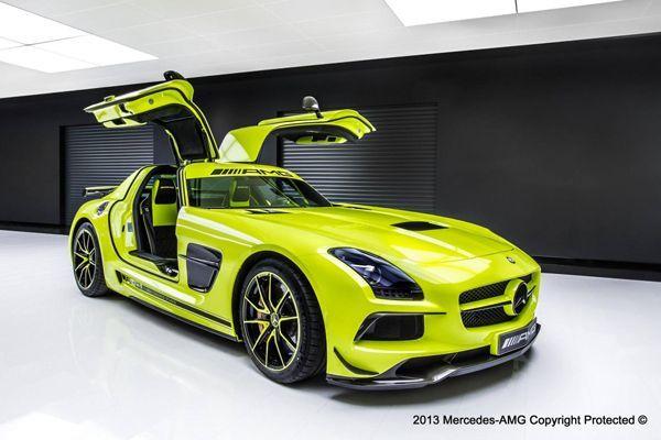 Mercedes SLS AMG Black Series แต่งสะกดทุกสายตาโดย AMG Performance Studio