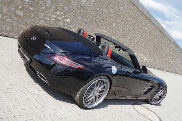 Mercedes-Benz SLS AMG Roadster สวยดุยิ่งขึ้นฝีมือโมดิฟายด์ Senner Tuning