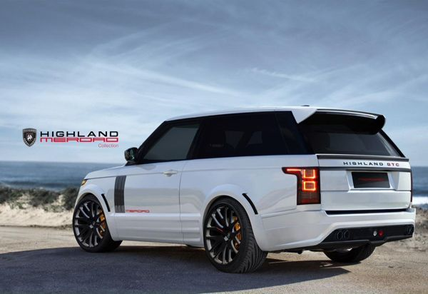 แปลงโฉม 2013 Range Rover จากสี่ประตูเป็นรถคูเป้ โดยฝีมือ Merdad