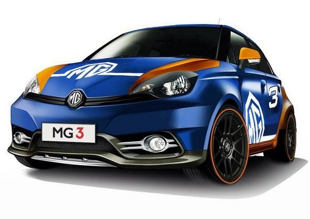 [TIME2014] เอ็มจี3  เตรียมพร้อม ปรากฏกายครั้งแรกที่ Motor Expo 2014