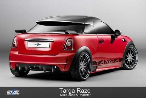 MINI Coupe และ Roadster สวมชุดแต่ง Targa Raze จาก RevoZport