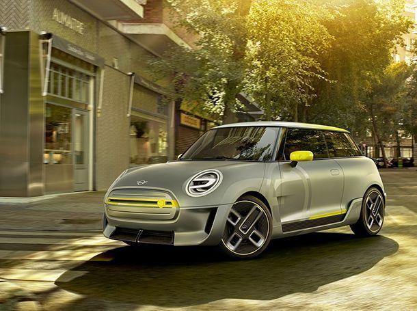 """MINI นำเสนอรถพลังไฟฟ้าแห่งอนาคตด้วย """"Electric Concept"""""""
