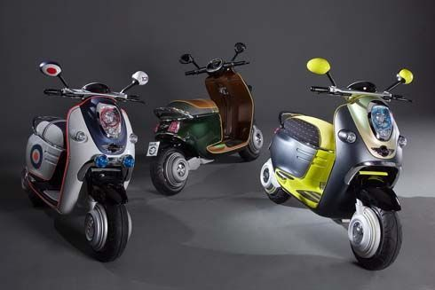 MINI Scooter E Concept สกู๊ตเตอร์ไฟฟ้า 3 แบบ 3 สไตล์จาก BMW Group รอโผล่ที่ปารีส