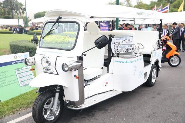 พลังงานหนุนรถตุ๊กตุ๊กไฟฟ้าบริการสาธารณะเกิด นำร่องปีหน้า 100 คัน