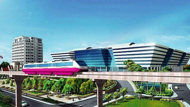 ตีกลับโครงการรถไฟฟ้าสายสีชมพู-เหลือง